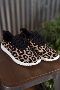 Champagne Remy Leopard Sneakers