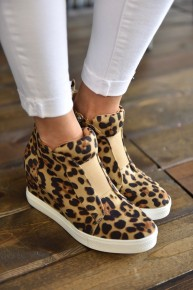 Leopard Zoey Sneakers