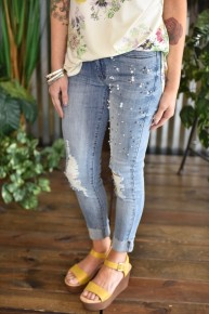 Kan Can Pearl Skinny Jeans