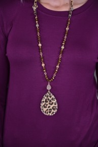 Leopard Mixing It Up Necklace