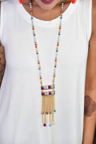 Multi Colored Ava Necklace