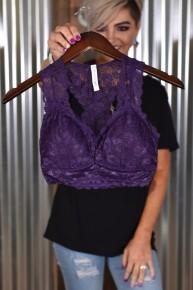 Purple Padded 6324 Bralette