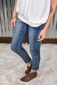 L & B Ankle Skinny Jeans