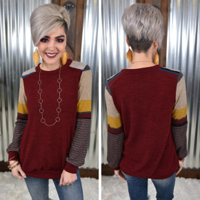 Mackenzie's Patchwork Top