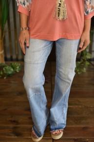 CLEARANCE L & B Wide Leg Flare Jeans