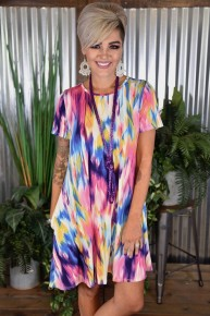 Tye Dye Pocket Dress