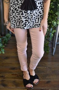 Rosette Hyperstretch Skinny Pants