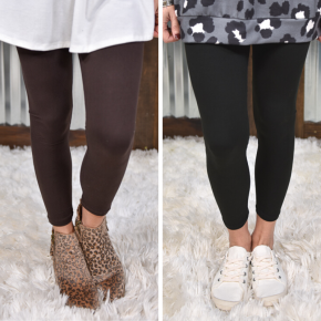 Solid Yoga Leggings