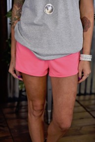 Pink Show Off Lounger Shorts