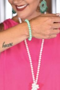 Mint Essential Stretch Bracelet