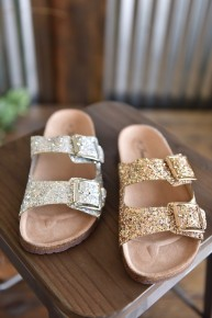 Glitter Birk Sandals