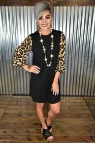 It's Ladies Night Leopard Dress