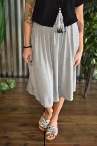 CLEARANCE Casual Basic Skirt