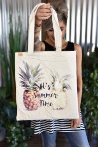 Summer Time Pineapple Bag