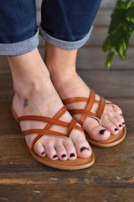 Tan Lupie Sandals