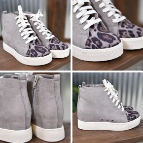 Grey Lets Go Crazy Sneaker