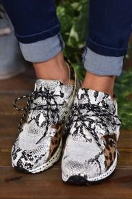 Leopard & Snake Galaxy Sneakers