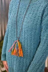 Country Faire Tassel Necklace