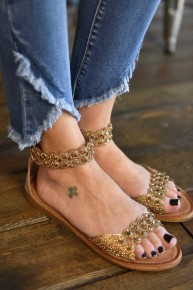 CLEARANCE Knit 41 Sandals