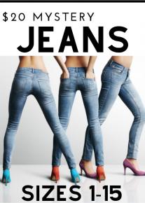 $20 Mystery Jeans *Final Sale*