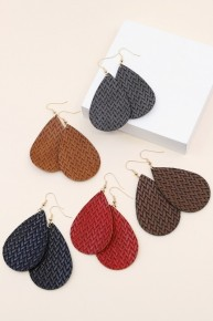 ZigZag Woven Earrings