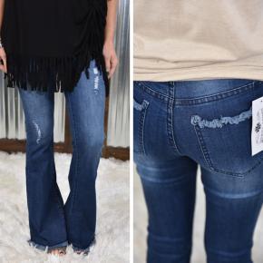 Flatter Flare Denim Jeans