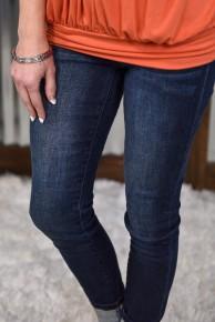 Judy Blue Super Dark High Waist Skinny Jeans