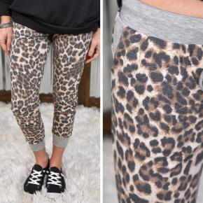 Faded Leopard Joggers