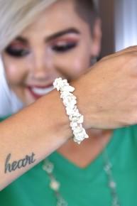 White Rock Steady Stretch Bracelet
