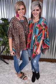 Double Down Reversible Poncho