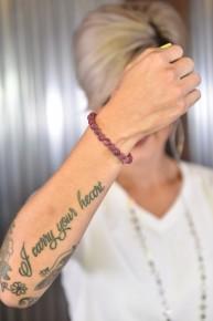 Jasper Stone Beaded Bracelet