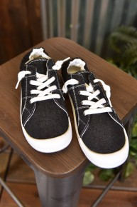 Black & White Summer Sneakers