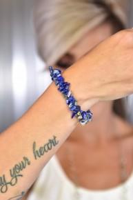 Blue Rock Steady Stretch Bracelet