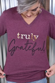 Truly Grateful Tee