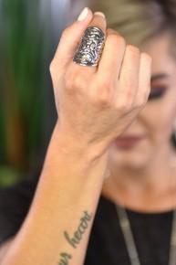 Silver Enchanted Slide Ring