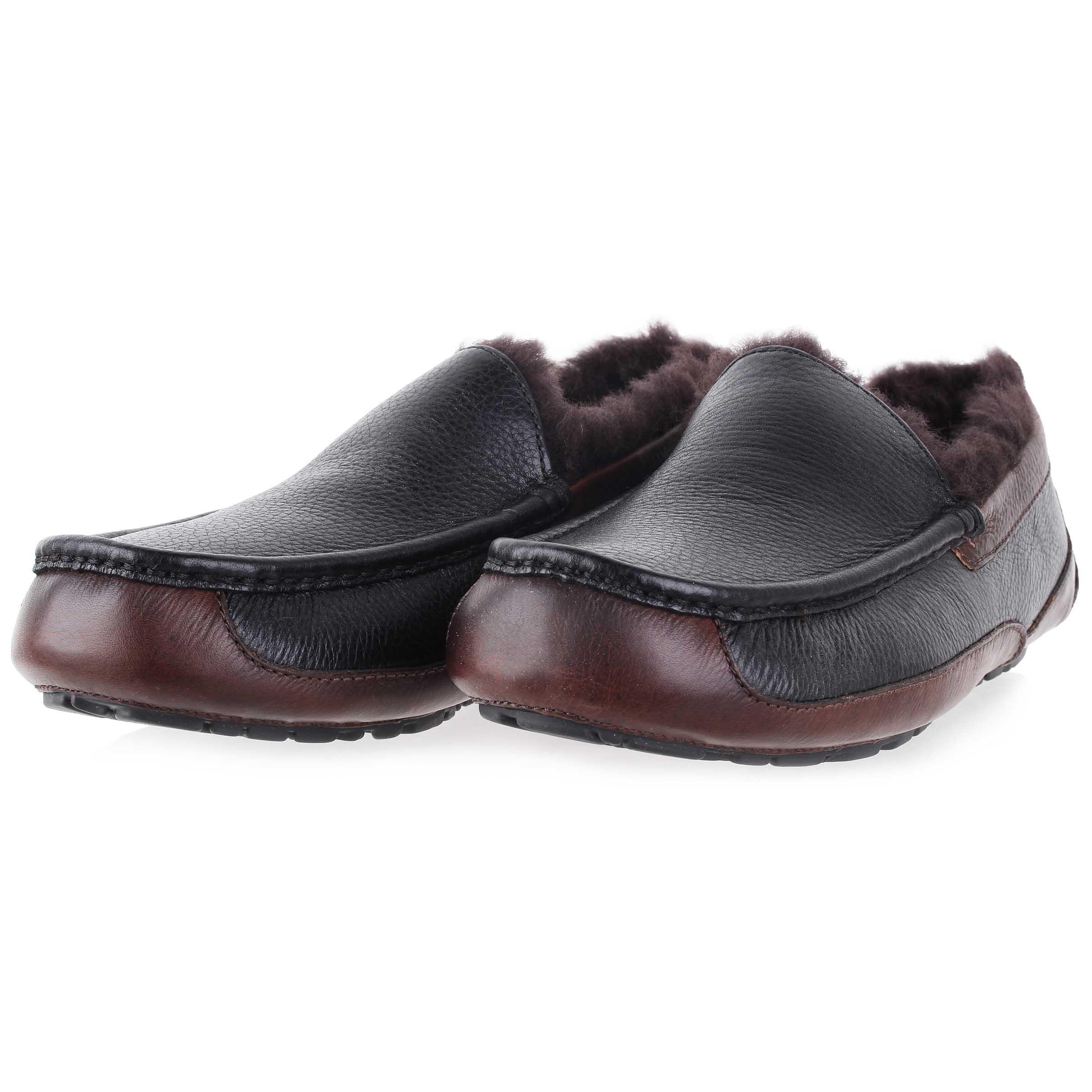 fa00fc4355 UGG Men s Ascot Slippers 1005229 BCNT Black Shoes