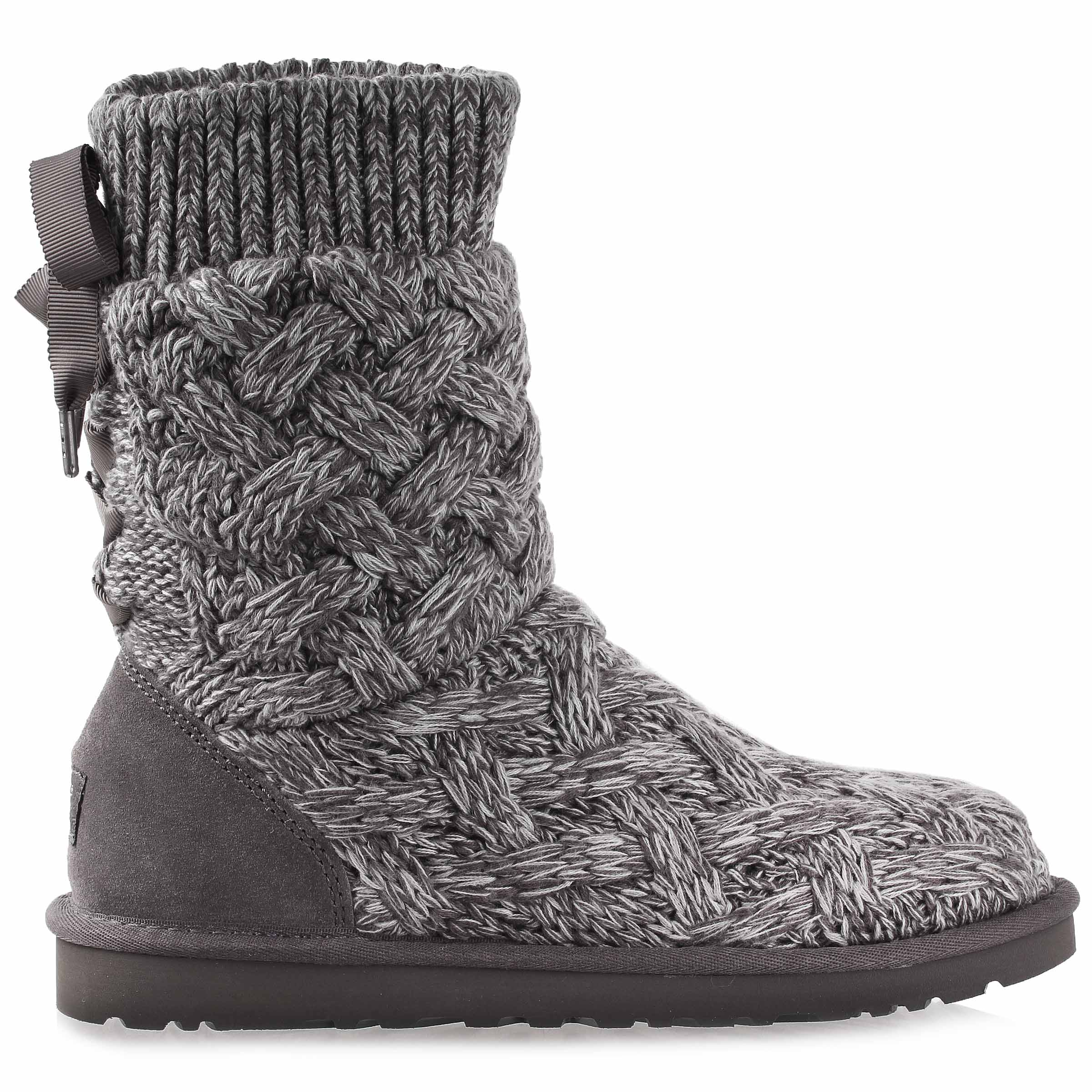 93c1430bb24 Details about UGG Australia Womens Isla Boot Shoes 1008840W Grey