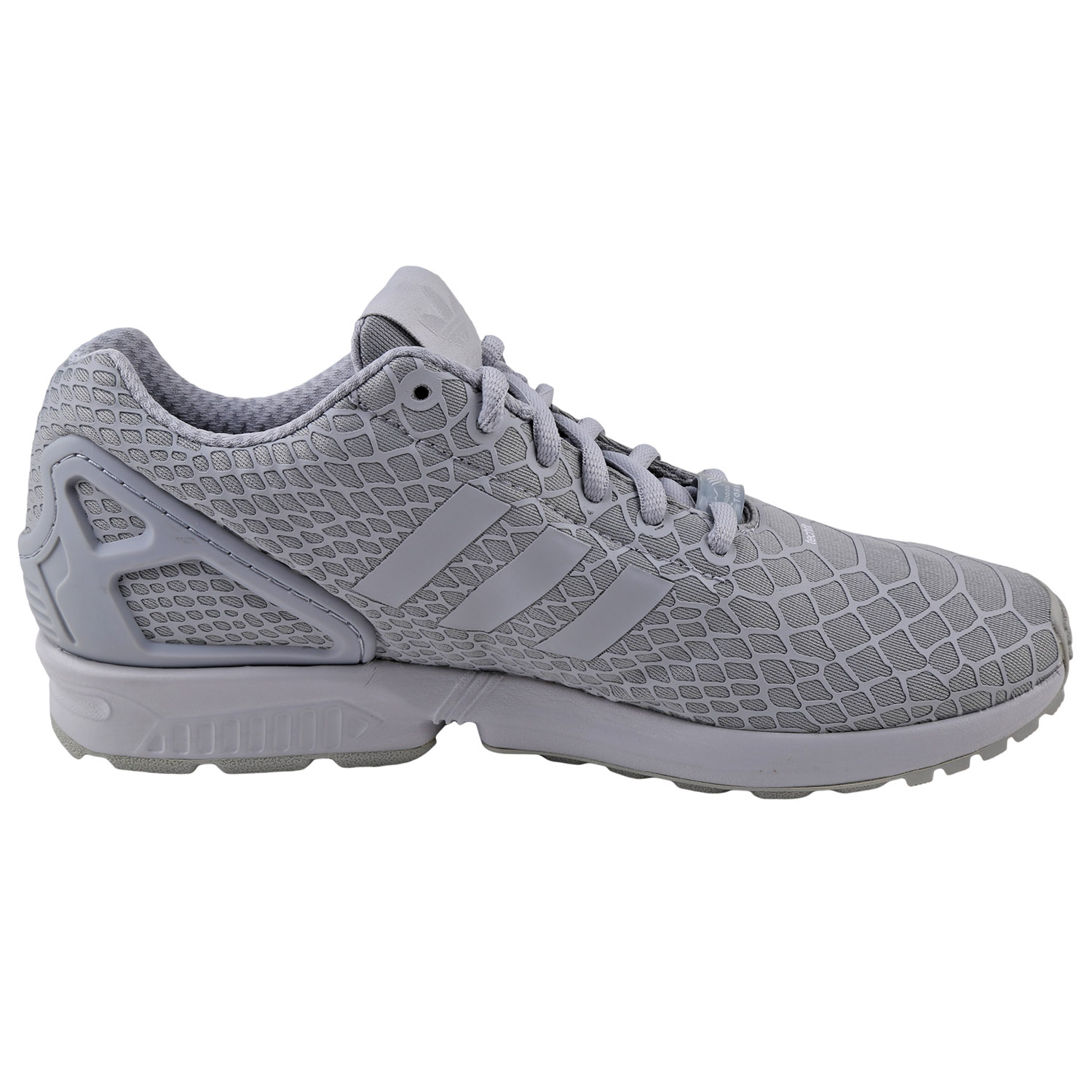 Details about Adidas Mens ZX Flux Techfit Running Shoes AF6389 CLEAR SUPYEL CLEAR SUPJAU