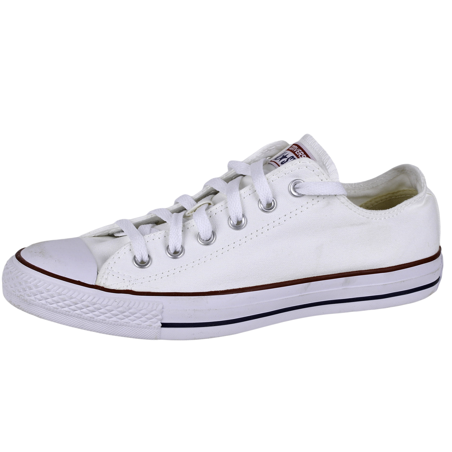 866a00e0d0e9 Details about Converse Men s All Star Chuck Taylor Lo Top Shoes M7652  Optical White size 8