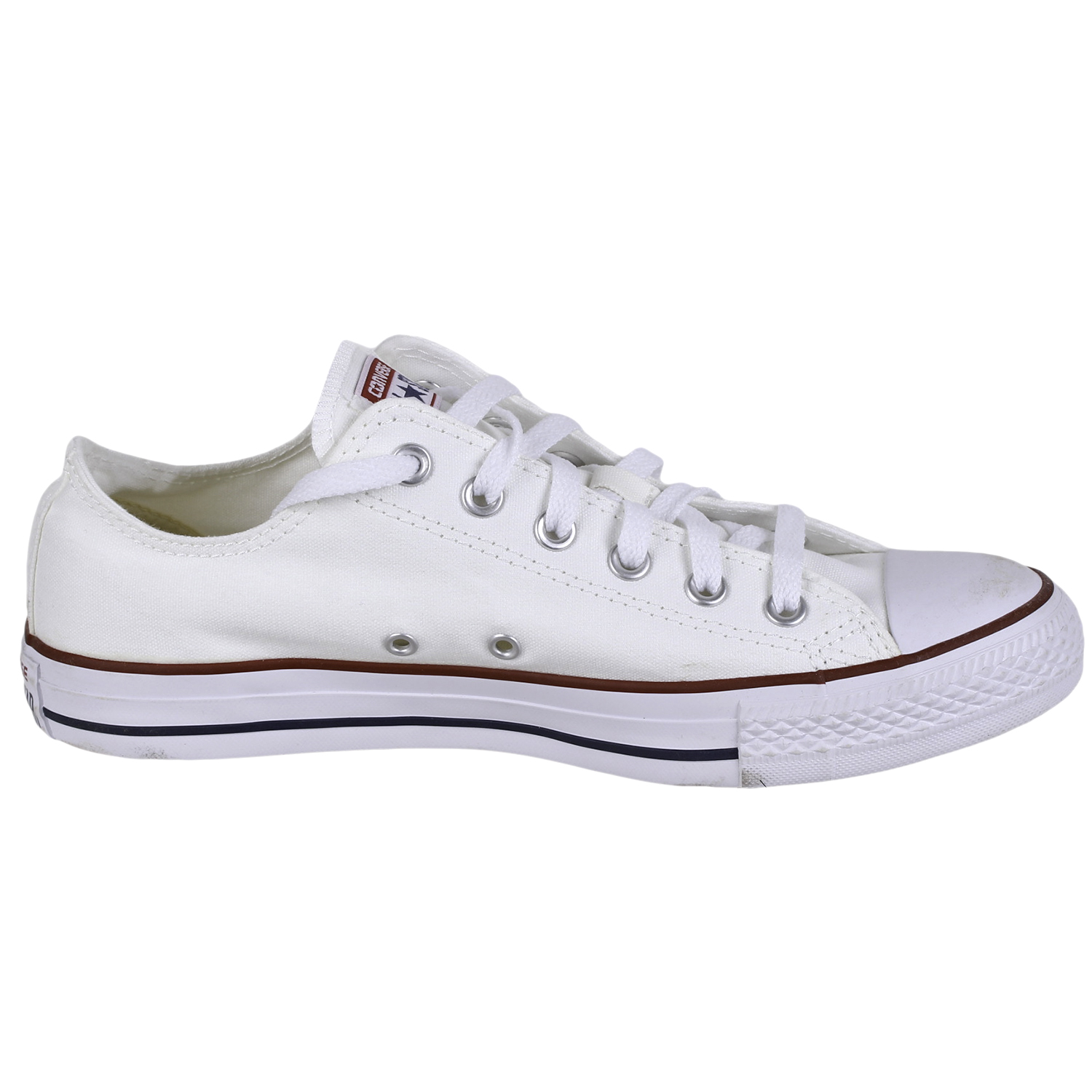 dac4f5d7e461 Converse Men s All Star Chuck Taylor Lo Top Shoes M7652 Optical White size 8