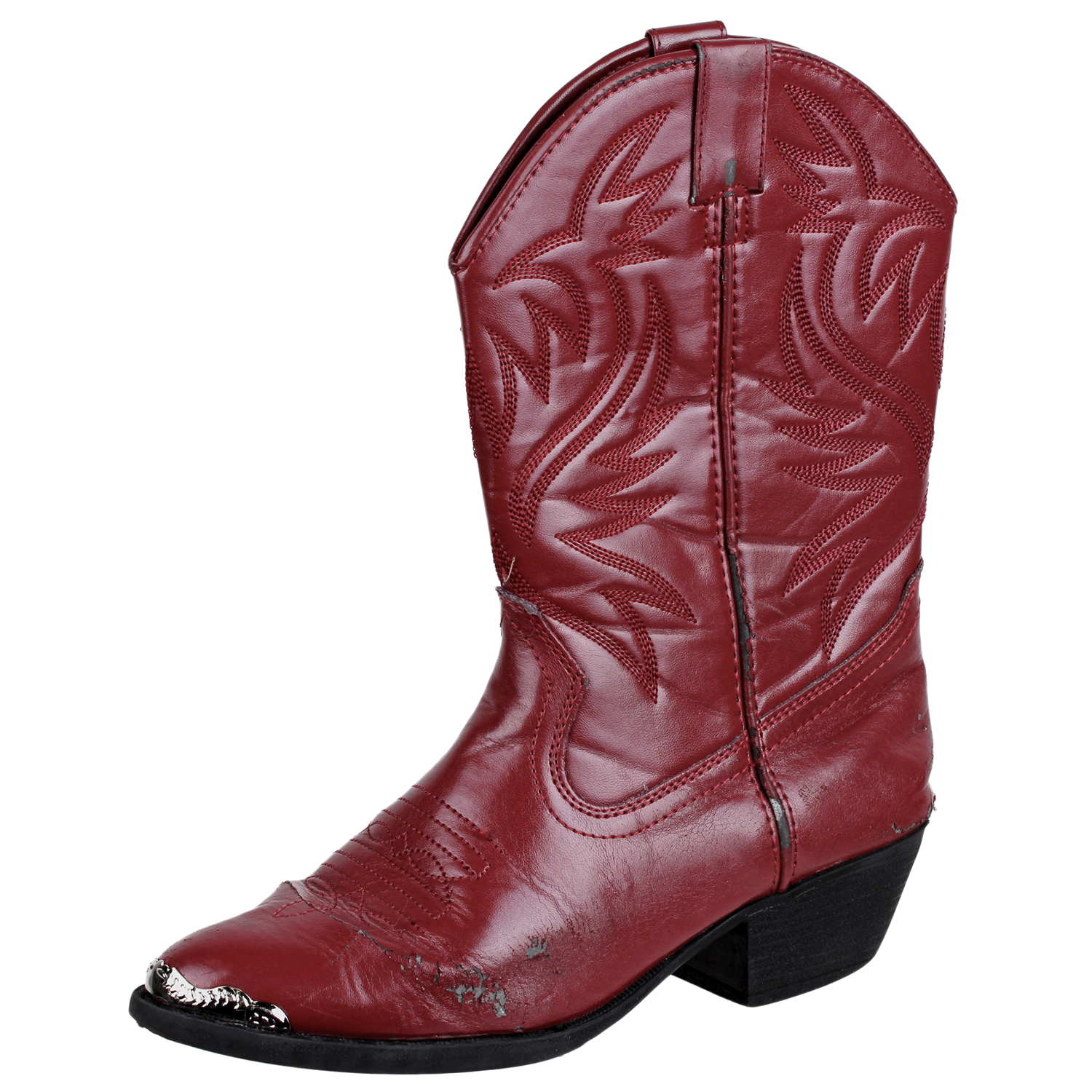 3589f73cfdf Details about Smoky Mountain Kids Mesquite Western Boot Shoe Red 6