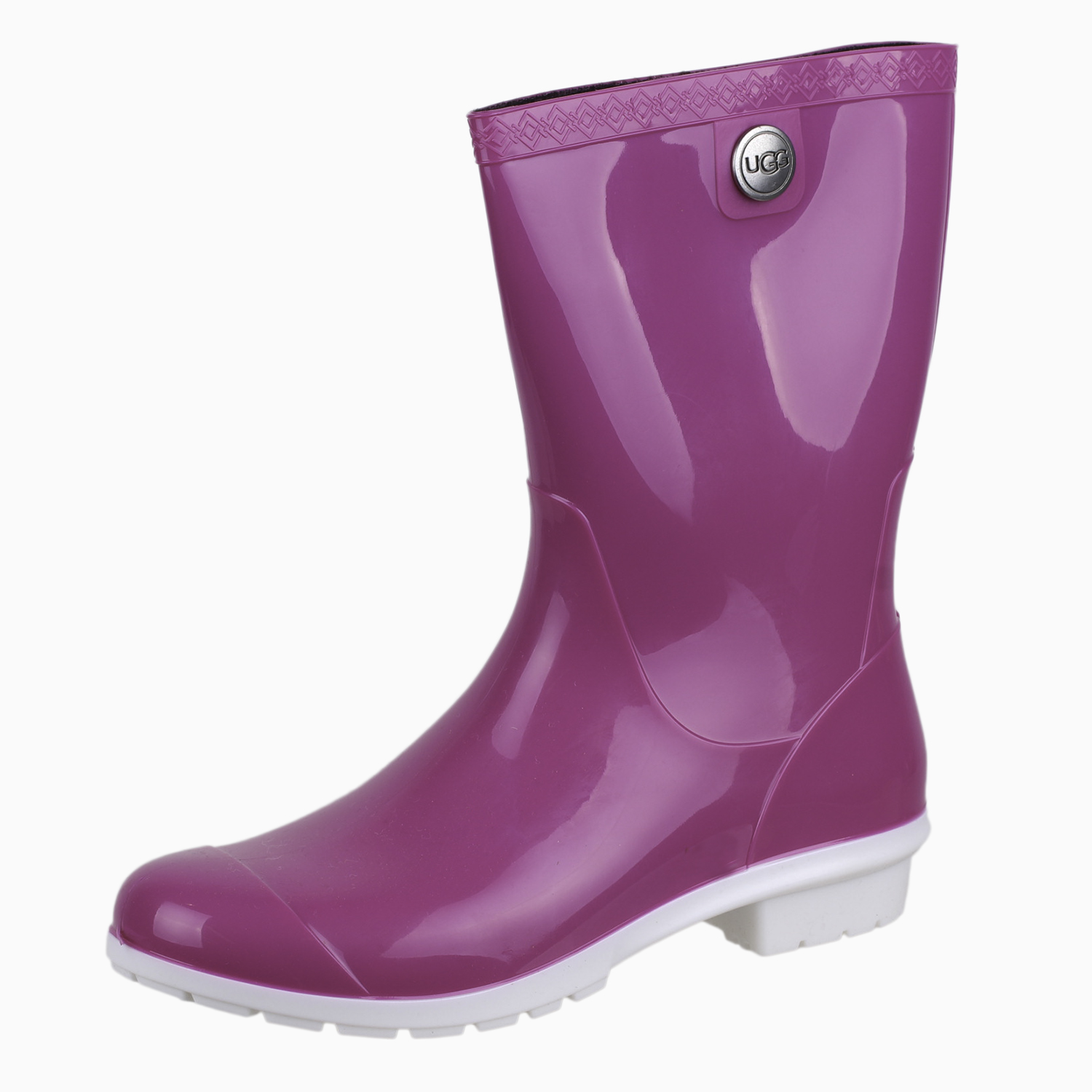 61ac3a31468 Details about UGG Women's Sienna Rain 1014452 Boot Shoes Neon Pink