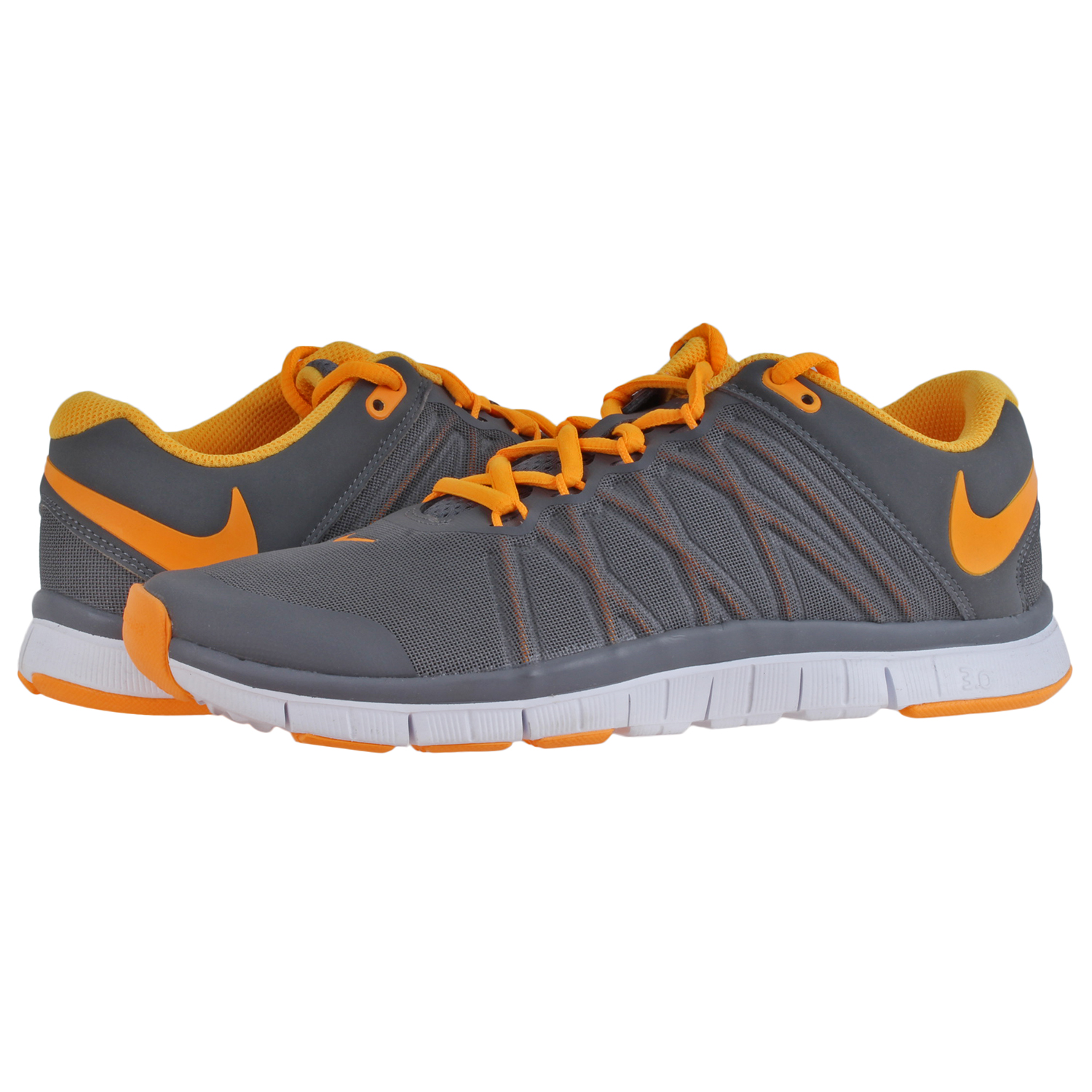 909ee6b43270e Details about Nike Mens Free 3.0 Training Shoes 630856-008-8EY Gry Sz8
