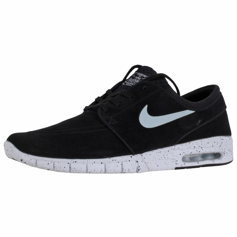 reputable site 9fb14 3db52 Details about Nike Mens Stefan Janoski Shoes 685299-002 Blk Wht Sz 9.5