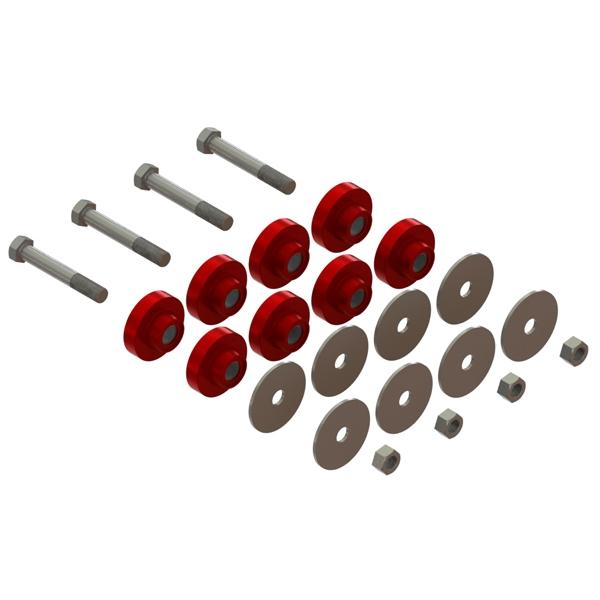 KT62-62389-HT : Insulator Kit<br>(High Temp)
