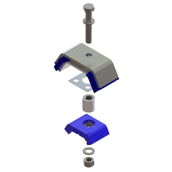 MM59-62001 : Motor Mount Kit w/Hardware