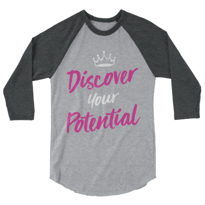 Discover your potential jersey tee for beauty queens