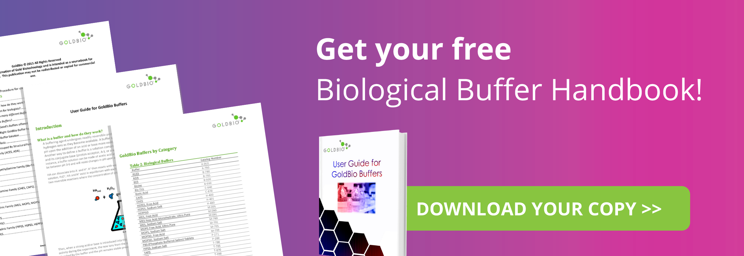 free biological buffer handbook download