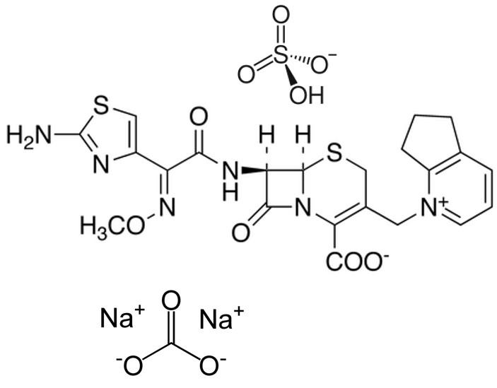 Cefpirome Sulfate With Sodium Carbonate