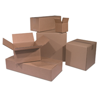 New for Moving or Shipping 10-24 x 18 x 18 48 ECT Corrugated Boxes
